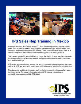 IPS Training in Mexico