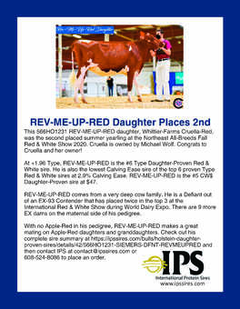 566HO1231 REV-ME-UP-RED Daughter
